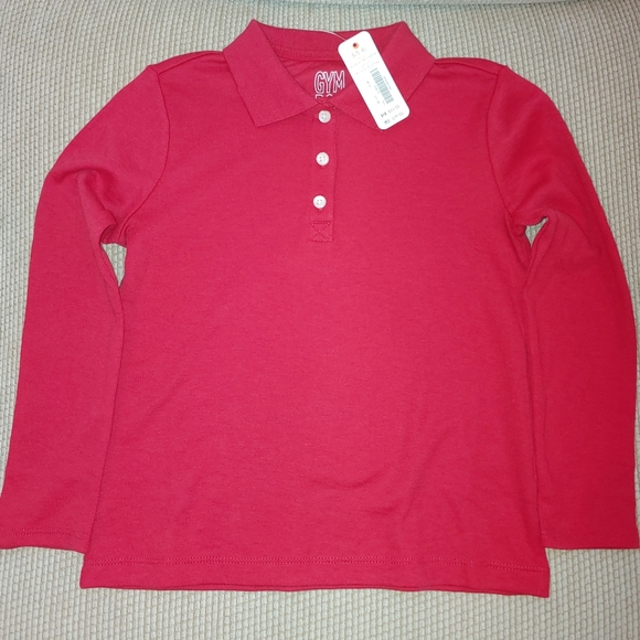 Gymboree shirt (5T) red long sleeve